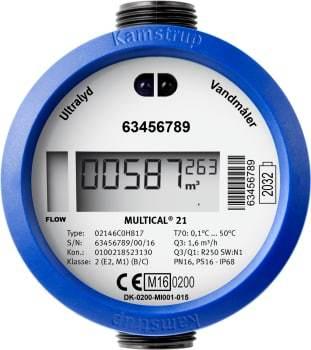 Image of   Kamstrup multical 21 1,6m3/h, 110 mm
