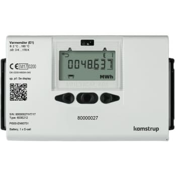 Image of   Kamstrup multical® 603 0,6m3/110mm/3/4