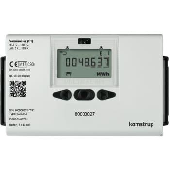 Image of   Kamstrup multical 603 6,0m3/260mm/11/4