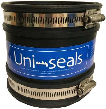 "Image of   Uni-Seals 110mm/4"" stb. kobling uniseals"