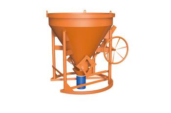 Billede af HMT kranspand, type 43, 1000 liter