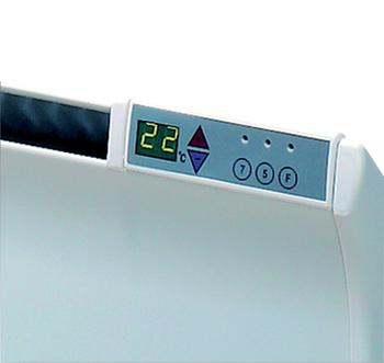 Image of   Glamox Digital termostat til El-radiator TPA og TLO m/Automatisk Sænkning (230V)