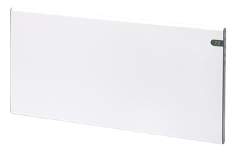 Image of   Glamox H30 Hvid 230V El-radiator 37x76,2cm med termostat 1000W 15m2
