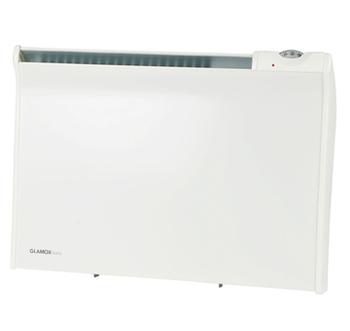 Glamox  TPVD El-radiator  EV 600W/230V med termostat 35*65cm 6m2
