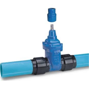Image of   110mm ventil med safetech-rør
