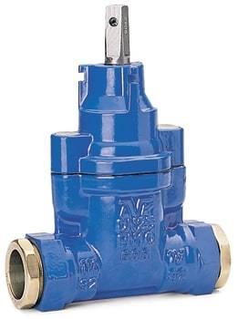 Image of   32mm avk stbj.ventil, trækfast