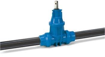 Image of 50mm avk pom ventil m/pe-ben