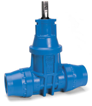 Image of AVK 63mm pom ventil m/indstik