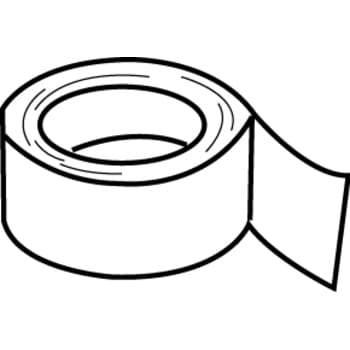 Thermex Hvid tape 50mmx4,6mtr.