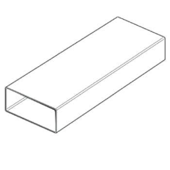 Thermex fladkanal 220x90x1500mm