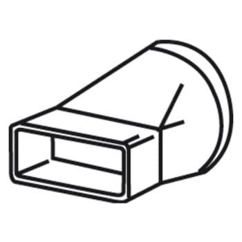 Thermex overgang fladkanal 220x90 ø150
