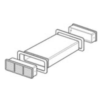 Thermex udvendig rist fladkanal 220x90